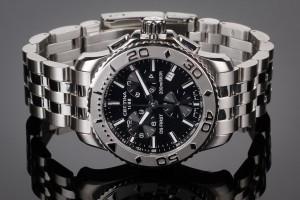 Nye og brugte herreure - Rolex, Cartier, Omega, Breitling - Certina DS First herrearmbåndsur af ...