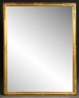 Spiegel, Goldfarben