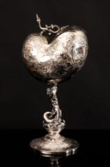 Preben Salomonsen, silver cup, nautilus shell