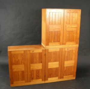 m bel mogens koch regale aus oregonpine 6 se malm baltzarsgatan. Black Bedroom Furniture Sets. Home Design Ideas