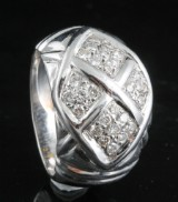 Diamond ring in 18kt approx. 0.60ct, By Kapriss