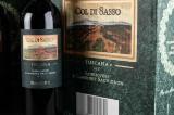 18 flasker toscansk rød, Banfi 'Col di Sasso' 2014 (18)