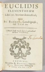 Barrow Euclidis elementorum libri XV 1659