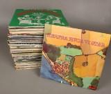 Grammofonplader - Dansk rock og pop m.m. (ca 85)