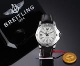 Breitling Colt 44 men's watch, steel, pale dial - 2015 certificate