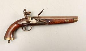 Sea Service flintlås pistol | Lauritz.com