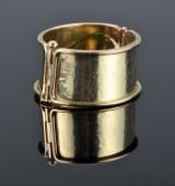 Carsten Grundtvig Sørensen. Handmade gold bangle - 94.6 g