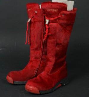 6963c3ada55 Bumper Høje støvler i rødt koskind, str. 38 Denne vare er sat til omsalg