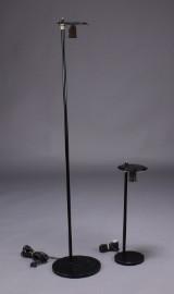 Louis Poulsen stander og bordlampe uden skærme (2)