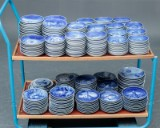 Stor samling Platter Bing & Grøndahl og Royal Copenhagen m.m. (352