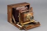 Fransk kamera, teak, 1880-1900