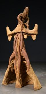 Kasper Holten, lertøj, abstrakt skulptur, 'Kuratoren II'