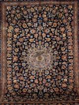 Persisk Kashan. Stort håndknyttet tæppe. Signeret, 400 x 305 cm