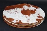 Seks hynder til Arne Jacobsens stole 3101 (myren), koskind (6)