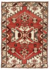 Persisk handknuten matta, Bakhtiari 185x130 cm