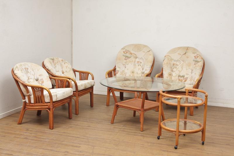 Manilla møbler / udestuemøbler af bambus (7) | Lauritz.com