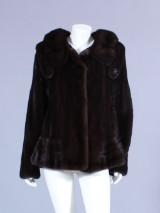 Ole B. Christensen. Jacket, brown female mink, size 38