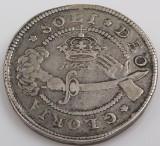 Danmark. Frederik III. 1 krone 1659 sølvmønt