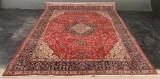 Persisk Tabriz. Ren uld på bomuld. Ca. 12 kvm. 389x304 cm