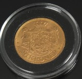 Guldmønt. 20 kroner, Christian X 1914