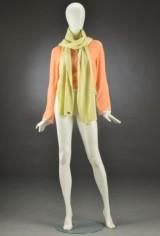 Chanel, cardigan og tørklæde af cashmere, str. 36 (2)
