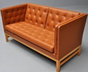 erik ole j rgensen fritst ende sofa model ej 315 2 cognacfarvet l der. Black Bedroom Furniture Sets. Home Design Ideas