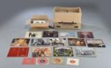 Samling af LP'er og singler, 1970erne, 1980erne (ca. 320)