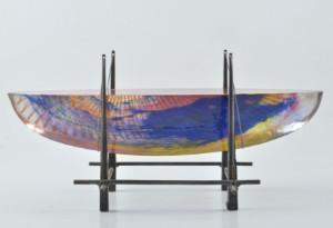 Vägglampor Båt : Lauritz glas bertil vallien kosta boda glasskulptur i