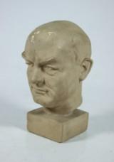 Walter Zadig. Skulptur av Per-Albin Hansson
