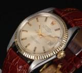 Rolex Datejust. Men's watch, 18 kt. gold and steel, c. 1969