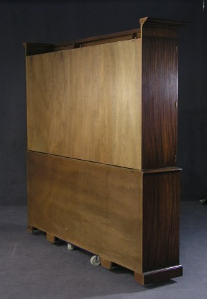 m bel reprodux gro es breakfront bookcase mit sekret r de hamburg gro e. Black Bedroom Furniture Sets. Home Design Ideas