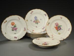 Slutpris för Kgl. Porcelains Fabrik / Royal