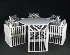 kolo moser josef hoffmann sitzgruppe modell purkersdorf von wittmann austria 7. Black Bedroom Furniture Sets. Home Design Ideas
