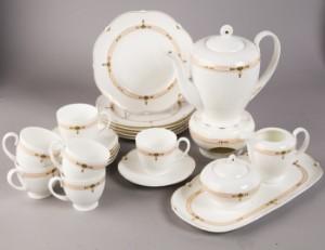 villeroy und boch kaffeeservice montserrat von paloma picasso bone china 23. Black Bedroom Furniture Sets. Home Design Ideas
