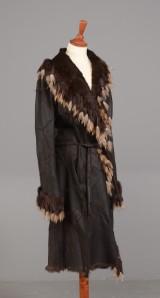 Tomahawk - pelsfrakke med kanin str. 42