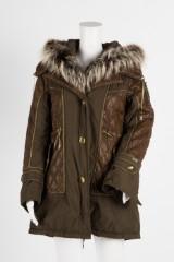 A ladies' fur jacket / short coat with hood, model Bianca Walt Mow, Marco del Forte MDF, Italy