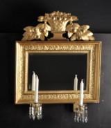 Spegellampett, Göteborg, empire, 1800-tal