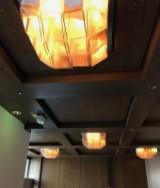Kalmar Franken KG, large ceiling light, 1970s (7)