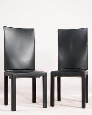 paolo piva, zwei stühle / esszimmerstühle aus der arcadia serie, Esszimmer dekoo