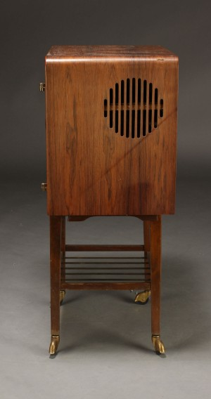 vare 4185803 dansk m belproducent skab tv m bel palisander 1960 39 erne. Black Bedroom Furniture Sets. Home Design Ideas