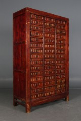 A large Chinese medicine cabinet, c. 1900