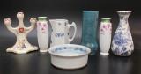 Samling vaser, Rörstrand, 6 delar, 1800/1900-tal (6)