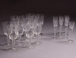 Holmegaard. Twist/Amager glas (20) | Lauritz.com