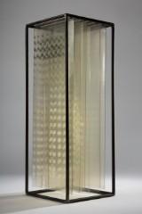 Annegret Hoffmann, folieobjekt/kinetisk objekt, 'Zwischenraum', unika