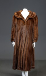 Scanglow mink coat, size approx. 44