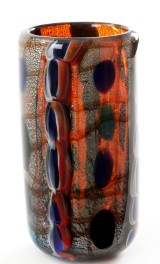 Kunstglas vase