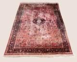 Ghom Teppich, Seide auf Seide, 295 x 199 cm