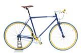 Von Braun. Fixiebike. Blå lakeret