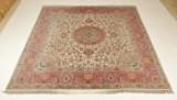 Persisk Tabriz tæppe, 298 x 295 cm
