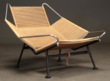 Hans J. Wegner (1914-2007): Flaglinestol / Flag Halyard chair GE225
